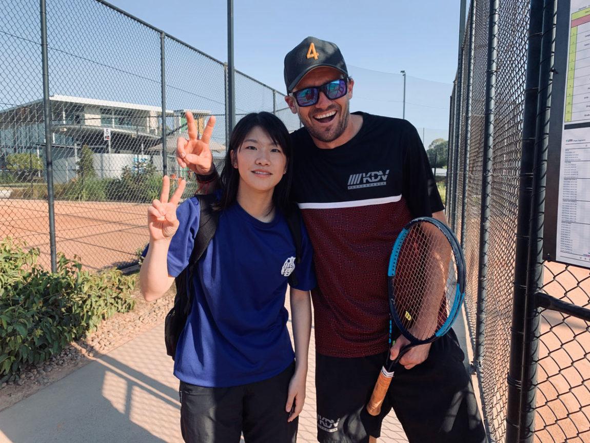 テニス留学イメージ